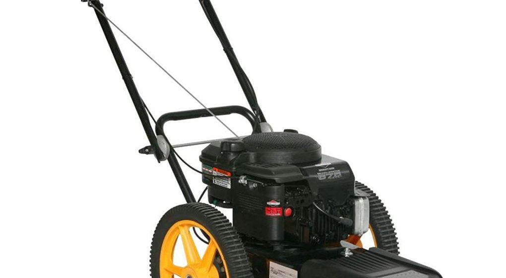 McCulloch wheeled trimmer