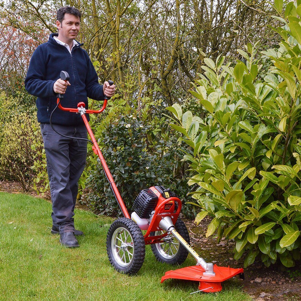 Best Petrol Grass Strimmers With Wheels Uk Reviews 2019