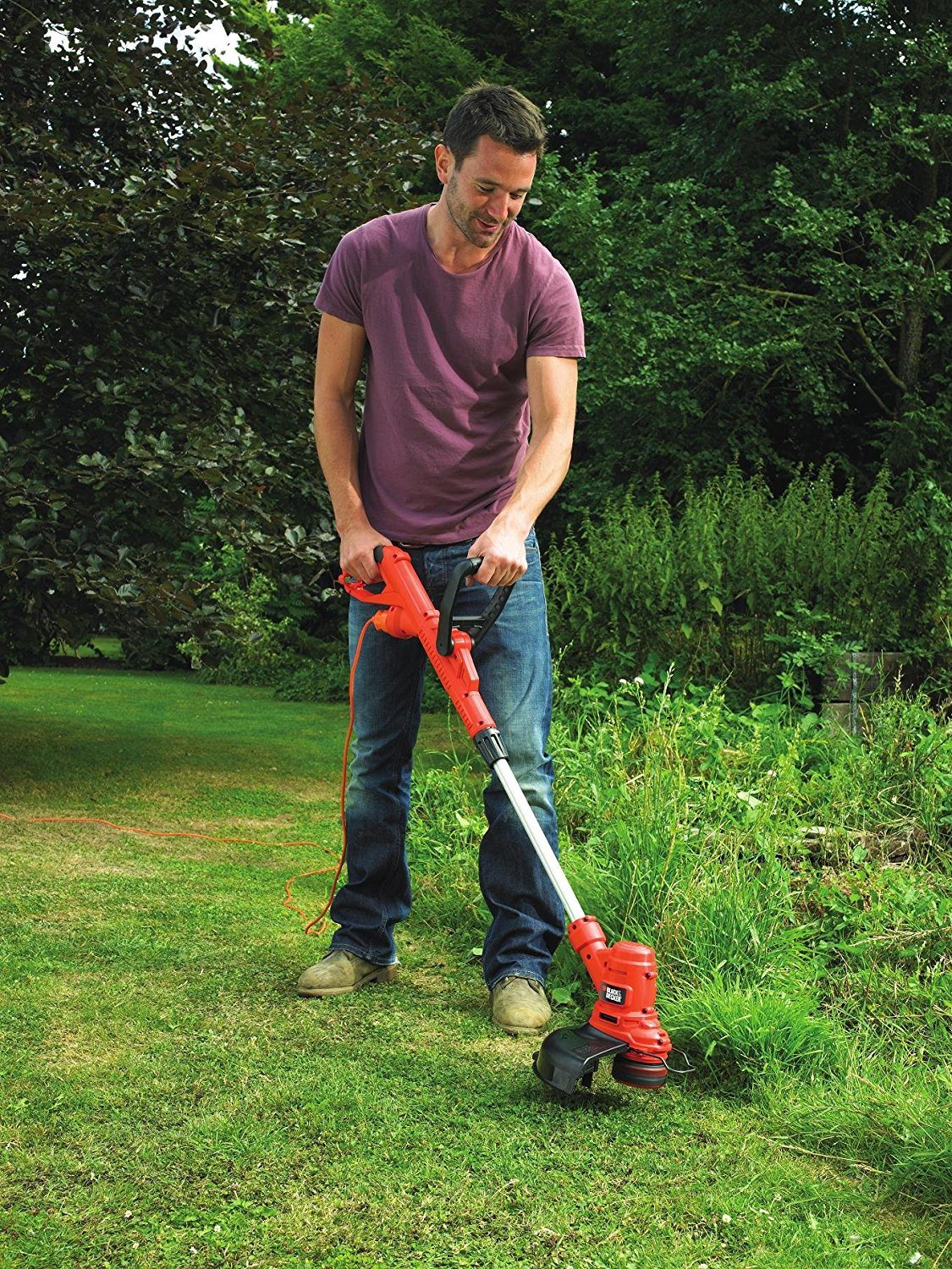 No 4 rated corded grass strimmer