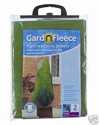 Plant warming jackets