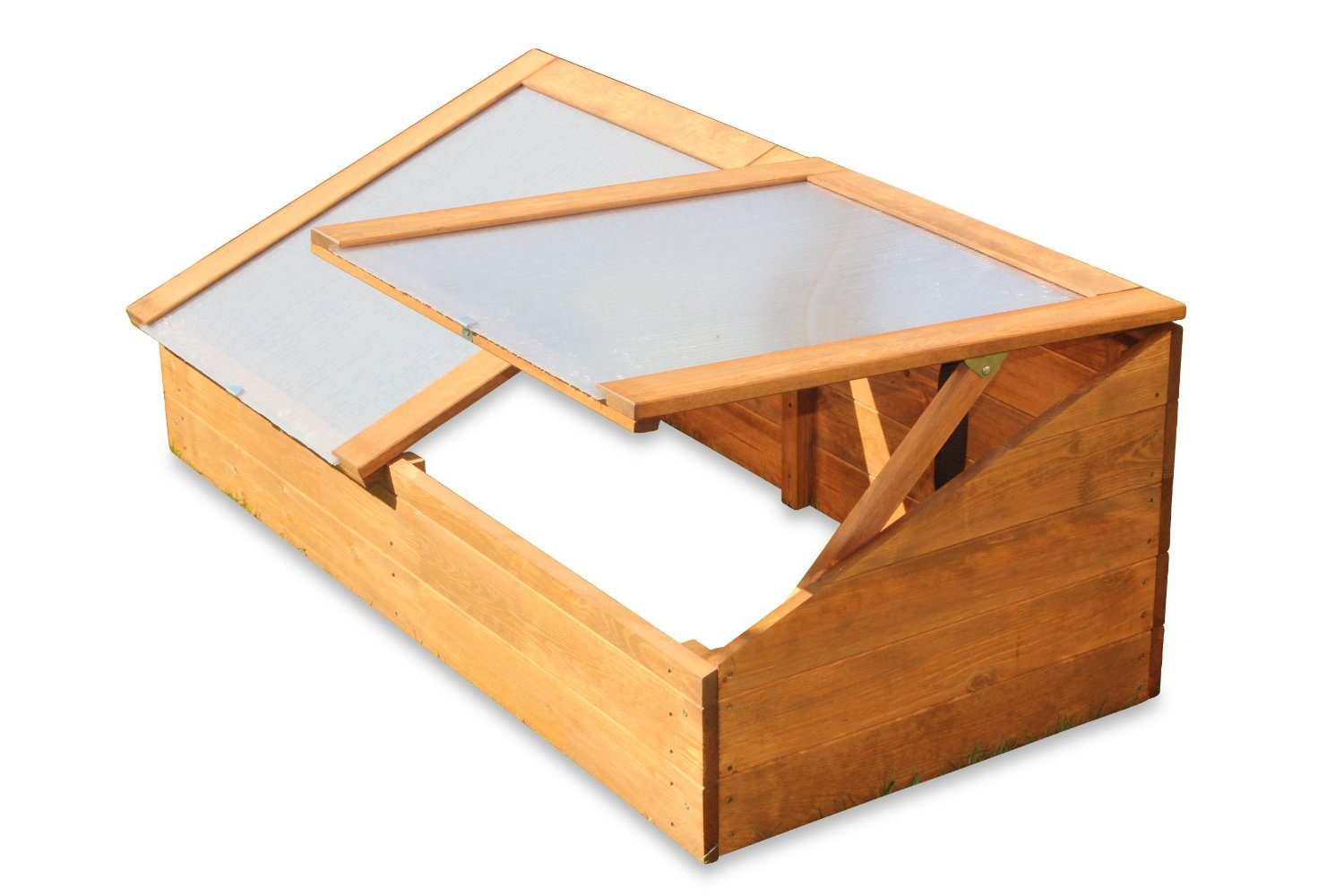 Timber Coldframe for protection