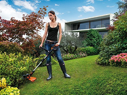 WORX WG169E 20V Cordless Lithium-Ion Grass Trimmer with Powershare Battery platform