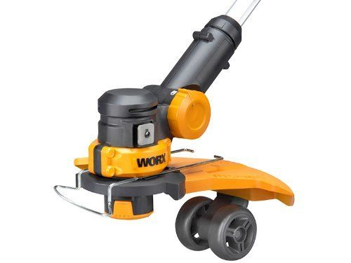 WORX WG169E as a mini mower