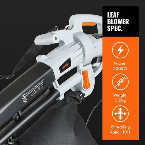 vonhaus lightweight leaf blower