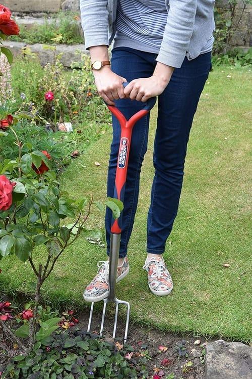 garden border fork