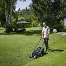 Bosch Rotak 43 Lawnmower UK review