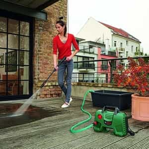 pressure washing for the garden and yard