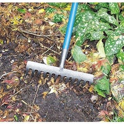 garden soil rake