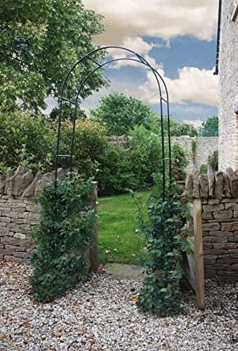 garden arch made from aluminium