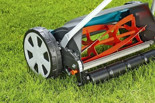gardena hand push mower