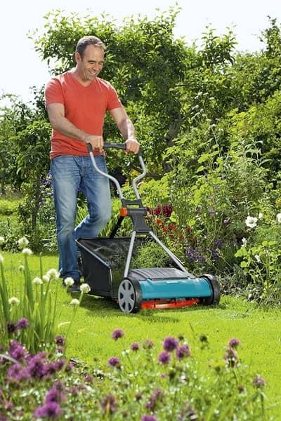gardena 400c mower