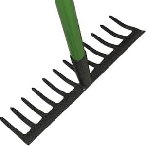 image of a garden rake