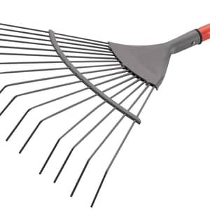 image of a lawn rake