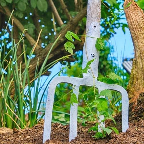 light weight garden forks