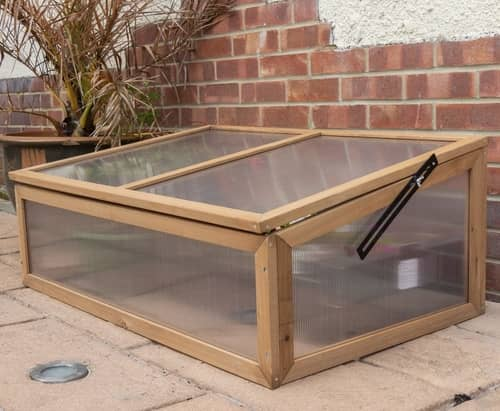 cold frame made of wood